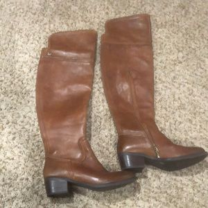 Vince camuto over the knee boot worn once